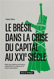 Le Bresil Dans La Crise Du Capital Au Xxie Siecle : Bulle Des Matieres Premieres, Capital Fictif Et Critique De La Valeur-dissociation