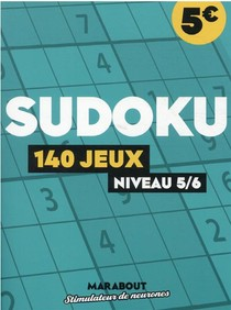 Sudoku : 140 Jeux, Niveau 5/6
