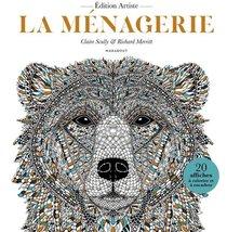 La Menagerie : 20 Affiches A Colorier Et A Encadrer