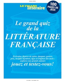 Le Grand Quiz De La Litterature Francaise