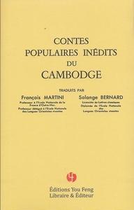 Contes Populaires Inedits Du Cambodge
