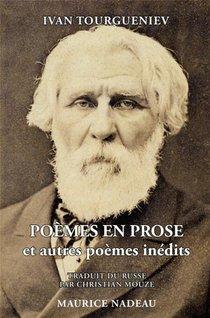 Poemes En Prose Et Autres Poemes Inedits