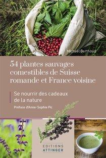 54 Plantes Sauvages Comestibles