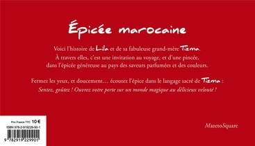 Epicee Marocaine ; Carnet De Saveurs