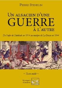 Un Alsacien D'une Guerre A L'autre : De L'enfer De Steinbach En 1914 Au Martyre De La Bresse En 1944