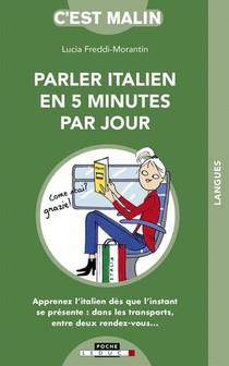 C'est Malin Poche ; L'italien En 5 Minutes Par Jour