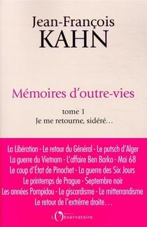 Memoires D'outre-vies T.1 ; Je Me Retourne, Sidere...