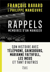 Rappels ; Memoires D'un Manager
