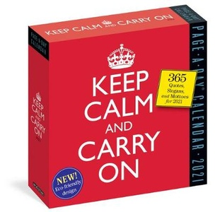 2021 Keep Calm and Carry on Page-A-Day Calendar