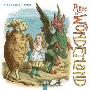 Alice in Wonderland Wall Calendar 2021 (Art Calendar)