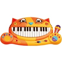 Chat Piano Musical Avec Melodie Et Micro