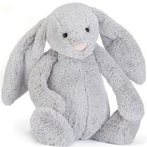 Bashful Silver Bunny Medium