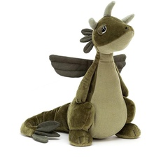 PELUCHE DRAGON OLIVE