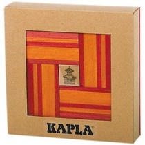 Coffret livre + 40 planchettes - rouge