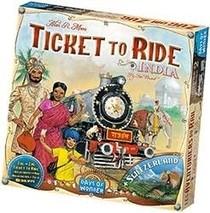 Les Aventuriers du Rail - ext. Inde