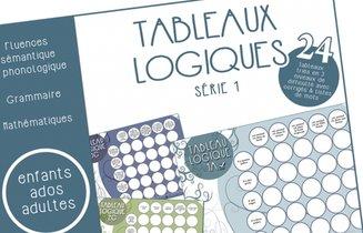 Tableaux Logiques Serie 1