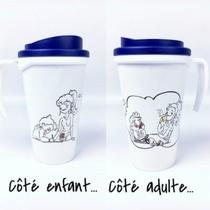 Mug Humoristique Cote Enfant - Cote Adulte