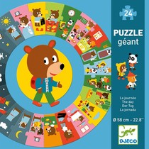 PUZZLE GEANT LA JOURNEE 24 PCS