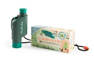MONOCULAIRE DE L'EXPLORATEUR LE JARDIN DU MOULIN