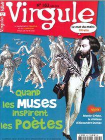 Virgule N 163 Quand Les Muses Inspirent Les Poetes - Juin 2018