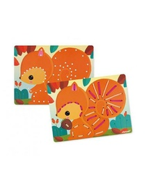CARTES A LACER - ANIMAUX