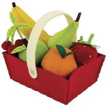 Panier De 8 Fruits En Tissu