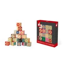 16 Cubes Alphabets Graves