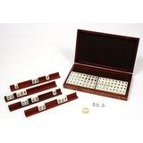 Mini Mahjong Westem Ivoire Bt Pvc