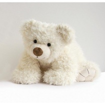 PAT OURS BLANC 50CM