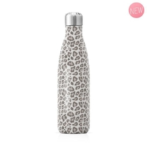 GOURDE METAL 500ML LEOPARD
