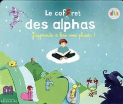 Le Coffret Metal Des Alphas ; J'apprends A Lire Avec Plaisir !