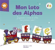 Mon Loto Des Alphas ; J'apprends A Ecrire Et A Lire Mes Premiers Mots !