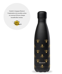 BOUTEILLE ISOTHERME - NOIR INTEGRAL BEE - 500ML