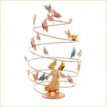 SPIRALE FILLE PAPILLONS