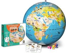 GLOBE GONFLABLE MISSION ANIMAUX