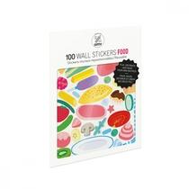 Pochette De Planches De Stickers Muraux Food