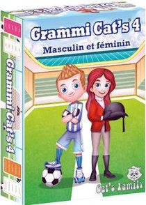 Jeu De Cartes Grammi Cat's 4 - Masculin Et Feminin