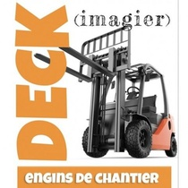 DECK - ENGINS DE CHANTIER