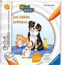 TIP TOI - MINI DOC BEBES ANIMAUX