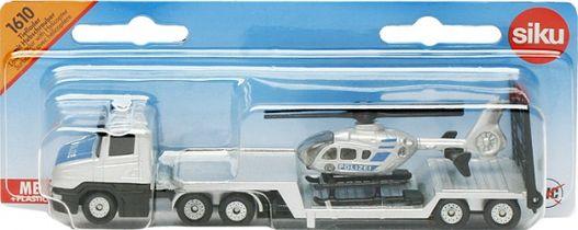 Camion Surbaisse Avec Helicoptere