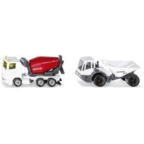 Set de 2 véhicules de construction