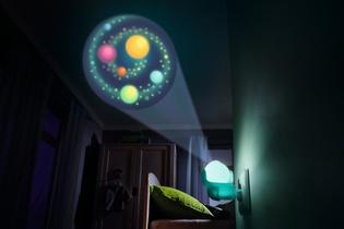 Lampe Pour Prise De Courant Galaxie Arc En Ciel