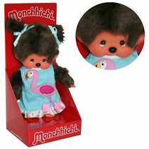 MONCHHICHI ROBE FLAMAND ROSE