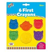 6 Premiers Crayons