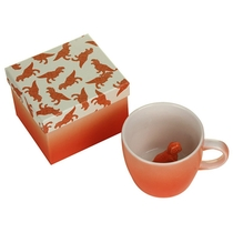 Cup Dinosaurus Orange