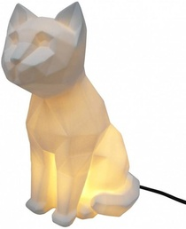LAMPE ORIGAMI CHAT BALNC