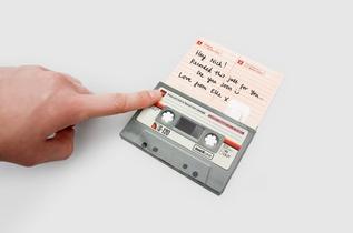 Cassette Vintage Enregistreur De Message