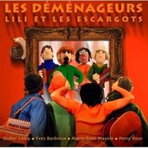 Lili Et Les Escargots - Les Demenageurs (Cd)