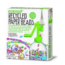 Chaine De Perles En Papier Recycle
