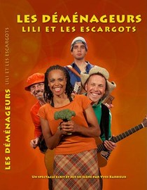 LILI ET LES ESCARGOTS - LES DEMENAGEURS (DVD)